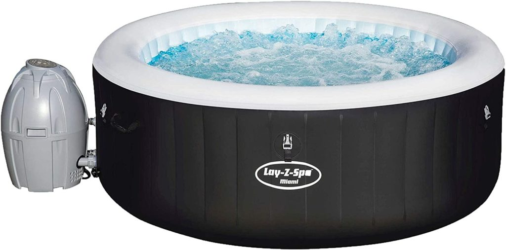 Bestway Lay Z Spa Miami Air Jet Whirlpool Test aufblasbar