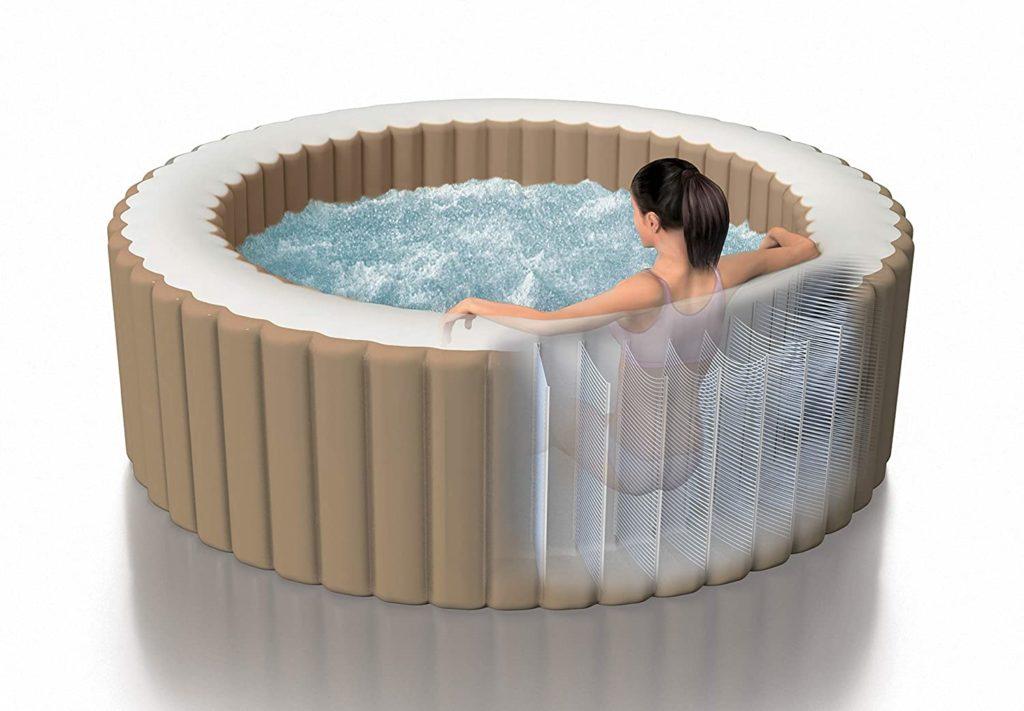 Intex Whirlpool Pure SPA Bubble Massage Luftkammern